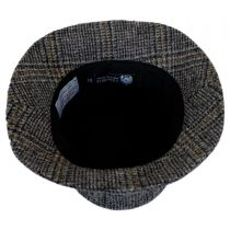 Lincolnshire Check English Tweed Wool Bucket Hat in