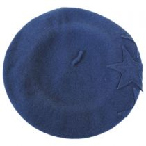 Star Wool Beret in