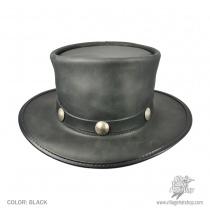 El Dorado Leather Top Hat