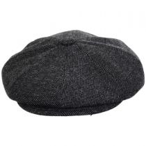 Galvin Wool Twill Newsboy Cap alternate view 2