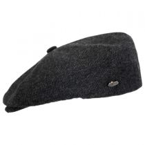 Galvin Wool Twill Newsboy Cap alternate view 3