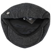 Galvin Wool Twill Newsboy Cap alternate view 4