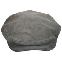 Italian Suede Leather Ivy Cap in