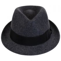 Tear Drop Wool Felt Trilby Fedora Hat alternate view 10