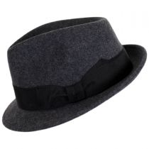 Tear Drop Wool Felt Trilby Fedora Hat alternate view 11