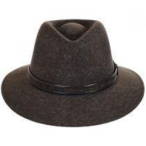 Hiker Wool Felt Safari Fedora Hat alternate view 6