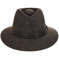 Hiker Wool Felt Safari Fedora Hat alternate view 34