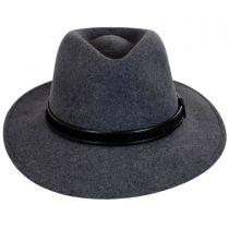 Hiker Wool Felt Safari Fedora Hat alternate view 10