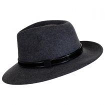 Hiker Wool Felt Safari Fedora Hat alternate view 39