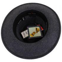 Hiker Wool Felt Safari Fedora Hat alternate view 40