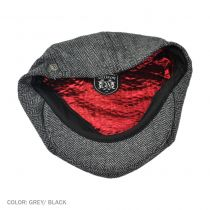 Brood Herringbone Newsboy Cap