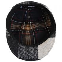 Patchwork Wool Ascot Cap in
