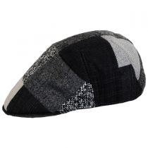 Patchwork Wool Ascot Cap alternate view 7