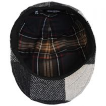 Patchwork Wool Ascot Cap alternate view 8