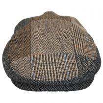 Herringbone Patchwork Wool Blend Ivy Cap alternate view 2