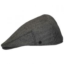 Herringbone Pure Wool Ivy Cap in