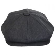 Lightweight Wool Newsboy Cap in