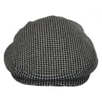 Houndstooth Wool Ivy Cap in