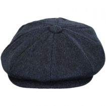 Cashmere and Wool Newsboy Cap in
