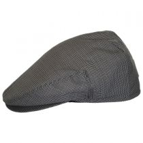 Micro Check Wool Ivy Cap in