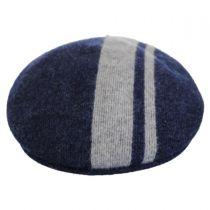 Code Stripe Wool Blend 504 Ivy Cap in