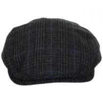 Plaid Wool Earflap Ivy Cap in
