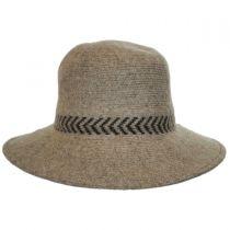 Chevron Knit Wool Swinger Hat alternate view 2