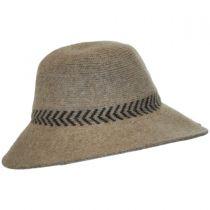 Chevron Knit Wool Swinger Hat alternate view 3
