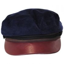 Corduroy Sailor Fiddler's Cap in