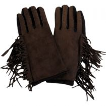 Fringe Faux Suede Texting Gloves alternate view 5
