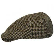Hooligan Houndstooth Tweed Wool Blend Ivy Cap in