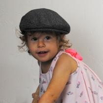 Baby Herringbone Wool Blend Ivy Cap in