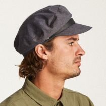 Kurt Linen and Cotton Fiddler Cap alternate view 7
