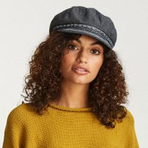 Athens Linen Fisherman Cap in
