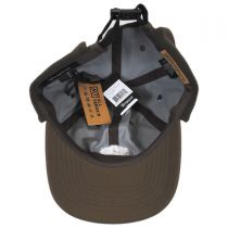 Trig AT Cotton Earflap Strapback Baseball Cap in