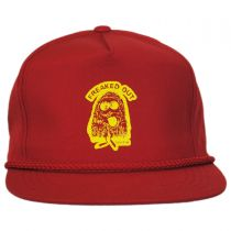 Freaked Out Snapback Baseball Cap in