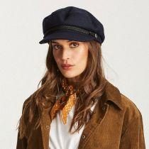 Wool Blend Fiddler Cap in