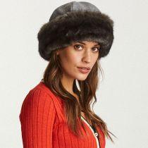 Elaina Wool and Faux Fur Cap in