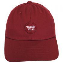 Wheeler LoPro Strapback Baseball Cap Dad Hat alternate view 3