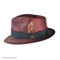 Bao Straw Fedora Hat
