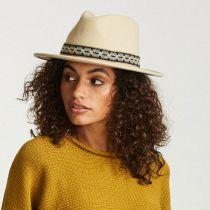 Fiona Wool Felt Fedora Hat in