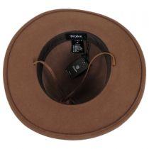Tiller Packable Wool Felt Wide Brim Hat in