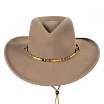 Columbia Crushable Wool LiteFelt Western Hat alternate view 2
