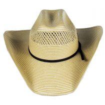 Cassius 7X Toyo Straw Western Hat alternate view 2