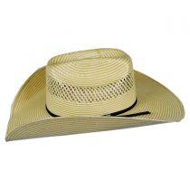 Cassius 7X Toyo Straw Western Hat alternate view 3