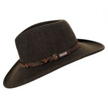 Palisade Crushable Wool LiteFelt Western Hat alternate view 3