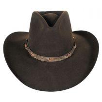 Navarro Wool Felt Western Hat alternate view 3