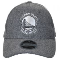 Golden State Warriors NBA 'Cashmere' 9Twenty Strapback Baseball Cap Dad Hat alternate view 2