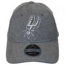 San Antonio Spurs NBA 'Cashmere' 9Twenty Strapback Baseball Cap Dad Hat alternate view 2