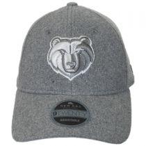 Memphis Grizzlies NBA 'Cashmere' 9Twenty Strapback Baseball Cap Dad Hat alternate view 2